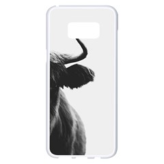 Highland Cow Samsung Galaxy S8 Plus White Seamless Case