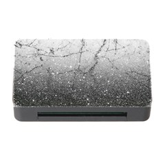 Black Glitter Marble Memory Card Reader With Cf by goljakoff