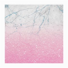 Pink Glitter Marble Medium Glasses Cloth