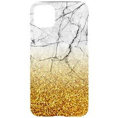 Gold Glitter Marble Iphone 11 Pro Max Black Uv Print Case