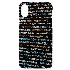 Close Up Code Coding Computer Iphone X/xs Black Uv Print Case