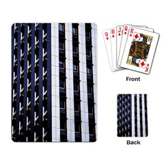 Architecture Building Pattern Playing Cards Single Design (rectangle) by Amaryn4rt
