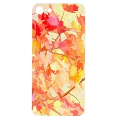 Monotype Art Pattern Leaves Colored Autumn Iphone 7/8 Soft Bumper Uv Case by Amaryn4rt