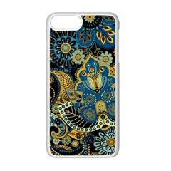 Retro Ethnic Background Pattern Vector Iphone 7 Plus Seamless Case (white)