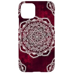 Flower Mandala Iphone 11 Black Uv Print Case