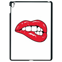 Red Lips Apple Ipad Pro 9 7   Black Seamless Case by goljakoff