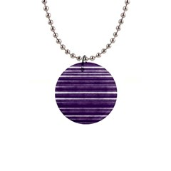 Bandes Peinture Violet  1  Button Necklace by kcreatif