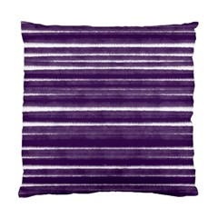 Bandes Peinture Violet  Standard Cushion Case (two Sides) by kcreatif