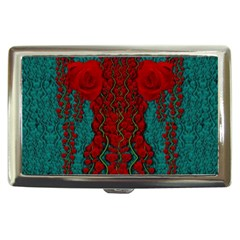 Lianas Of Roses In The Rain Forrest Cigarette Money Case by pepitasart