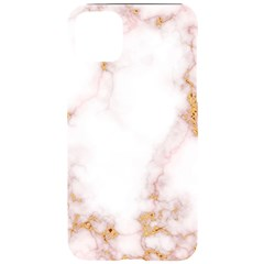 Pink And White Marble Texture With Gold Intrusions Pale Rose Background Iphone 11 Pro Max Black Uv Print Case