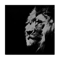 Wild Lion Tile Coaster by goljakoff