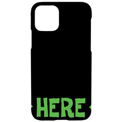 Free Hugs Here Iphone 11 Black Uv Print Case