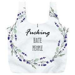 I F#cking Hate People Full Print Recycle Bag (xxl)