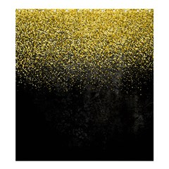 Gold Glitter Shower Curtain 66  X 72  (large)