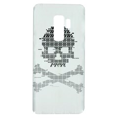 Glitch Skull Pixel Art Samsung Galaxy S9 Plus Tpu Uv Case