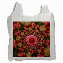 Arrangement Blossom Bloom Recycle Bag (two Side)