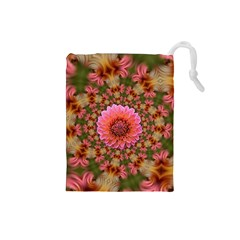 Arrangement Blossom Bloom Drawstring Pouch (small)