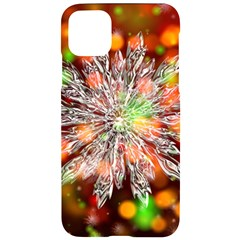 Ice Crystal Crystal Snowflake Bokeh Iphone 11 Pro Max Black Uv Print Case
