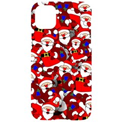 Nicholas Santa Christmas Pattern Iphone 11 Pro Black Uv Print Case by Wegoenart