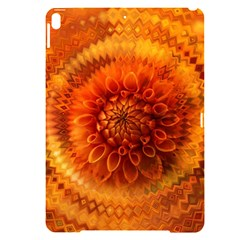 Abstract Dahlia Orange Autumn Apple Ipad Pro 10 5   Black Uv Print Case by Wegoenart