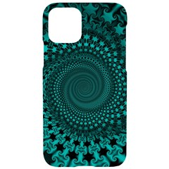 Spiral Abstract Pattern Background Iphone 11 Black Uv Print Case by Wegoenart