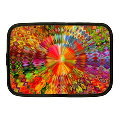 Kaleidoscope Mandala Color Netbook Case (medium) by Wegoenart