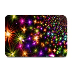Star Colorful Christmas Abstract Plate Mats