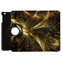 Quantum Physics Wave Particles Apple Ipad Mini Flip 360 Case by Wegoenart