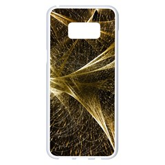 Quantum Physics Wave Particles Samsung Galaxy S8 Plus White Seamless Case