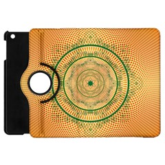 Mandalas Flower Mandalas Flowers Apple Ipad Mini Flip 360 Case by Wegoenart