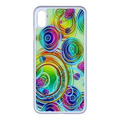 Wallpaper Pattern Colorful Color Iphone Xs Max Seamless Case (white)