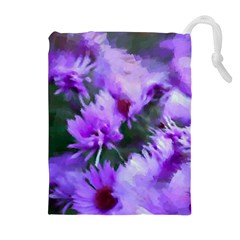 Impression Floral 9191 Drawstring Pouch (xl) by MoreColorsinLife