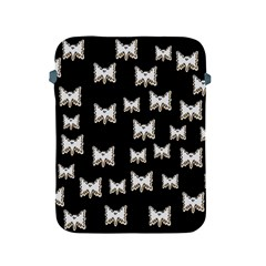 Bats In The Night Ornate Apple Ipad 2/3/4 Protective Soft Cases by pepitasart
