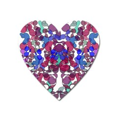 Netzauge Beautiful Heart Magnet by zappwaits