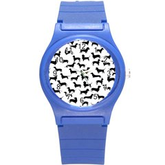 Dachshunds! Round Plastic Sport Watch (s)