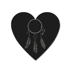 Dream Catcher Heart Magnet by goljakoff