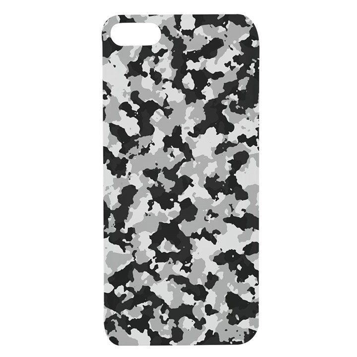 Winter forest camo pattern Apple iPhone 7/8 TPU UV Case