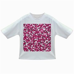 Pink Camo Pattern Infant/toddler T Shirts