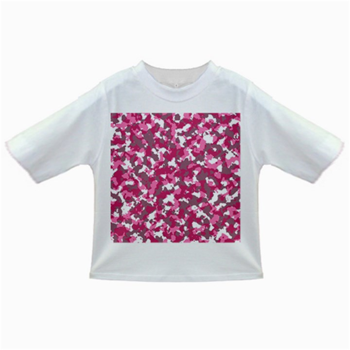 Pink camo pattern Infant/Toddler T-Shirts