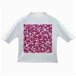 Pink camo pattern Infant/Toddler T-Shirts Back