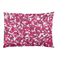 Pink Camo Pattern Pillow Case