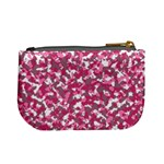 Pink camo pattern Mini Coin Purse Back