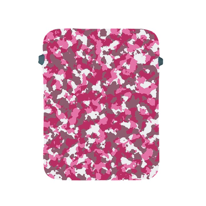 Pink camo pattern Apple iPad 2/3/4 Protective Soft Cases