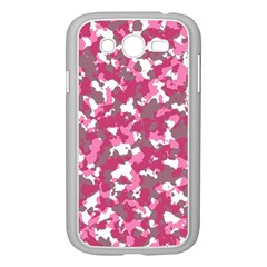 Pink Camo Pattern Samsung Galaxy Grand Duos I9082 Case (white)