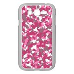Pink camo pattern Samsung Galaxy Grand DUOS I9082 Case (White) Front