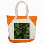 Forest camo pattern Accent Tote Bag Front