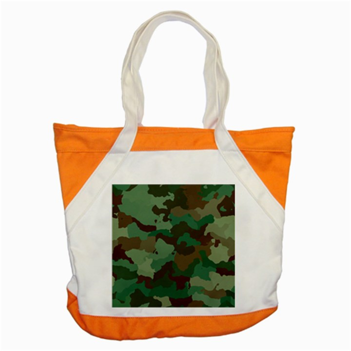 Forest camo pattern Accent Tote Bag