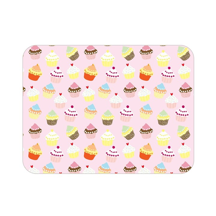 Cakes pattern Double Sided Flano Blanket (Mini)