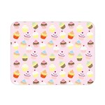 Cakes pattern Double Sided Flano Blanket (Mini)  35 x27  Blanket Back