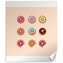 Donuts Canvas 8  X 10